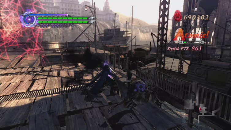Sk8society playing Devil May Cry 4 Special Edition